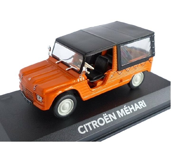 Citroen Mehari 1971 Oranje 1-43 Atlas