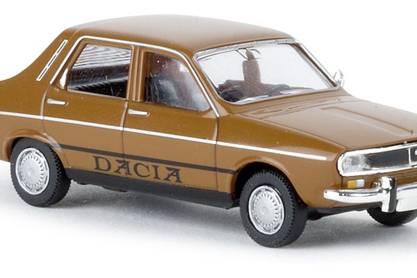 Dacia 1300 Bruin 1-87 Brekina