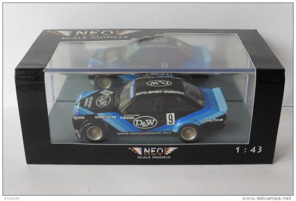 Ford Escort RS Gr. 2 #9 D&W-ETCC 1979 Blauw 1-43 Neo Scale Models