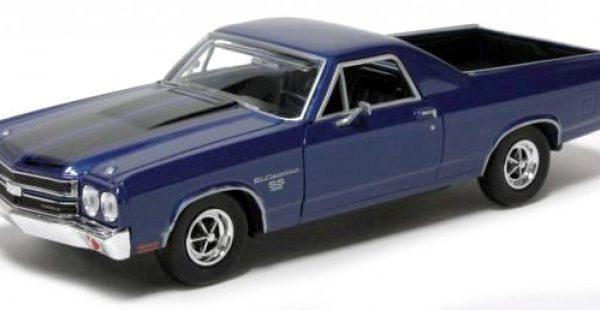 Chevrolet El Camino SS 396 1970 Blauw 1-24 Motormax
