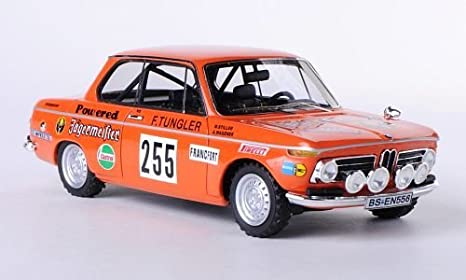 BMW 2002 Jagermeister #255 Rallye Monte Carlo 1973 1-43 Oranje Neo Scale Models