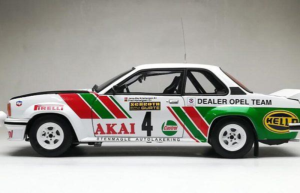 Opel Ascona 400 -#4 International Sachs Winter Rally 1981 ( Akai - Castrol ) J-O.Kristiansen / F.Hartwigsen 1-18 Sun Star Limited 999 Pieces