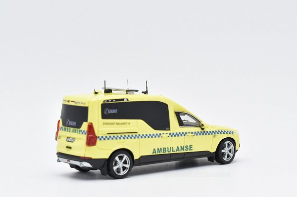 "Volvo XC-90 Nilsson Norway ""Ambulanse"" Geel 1:43 ScaleMasters"