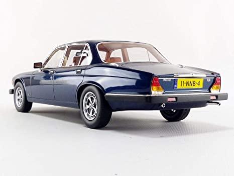 Jaguar XJ6 1982 Metallic Blue 1-18 LS Collectibles Limited 250 Pieces