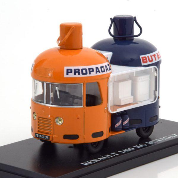 Renault 1400 Kg Butagaz Oranje / Wit / Blauw 1-43 Altaya