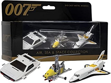 James Bond 007 Collection (Space Shuttle, Little Nellie, Lotus Esprit) 1-36 Corgi