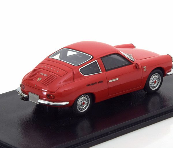 Abarth 1000 GT Monomille 1963 Rood 1-43 Neo Scale Models
