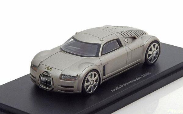 Audi Rosemeyer 2000 Aluminium 1/43 BOS Models