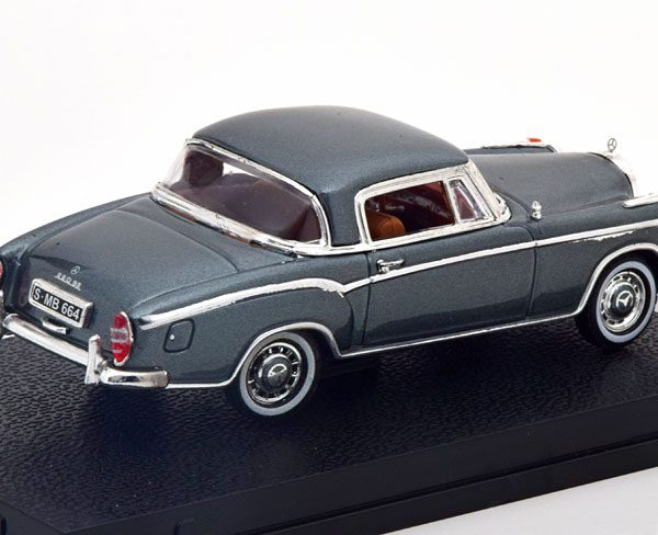 Mercedes-Benz 220 SE Coupe 1959 Grijs Metallic 1-43 Vitesse