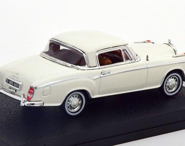 Mercedes-Benz 220 SE Coupe 1959 Ivory 1-43 Vitesse