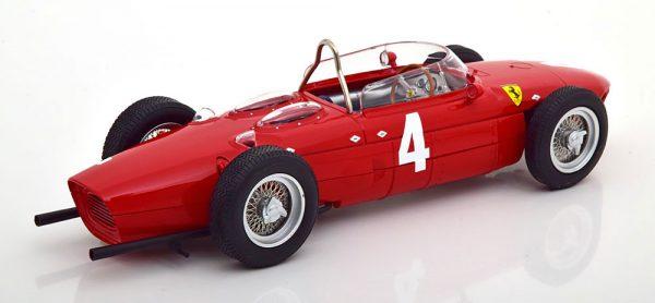 "Ferrari 156 Sharknose #4 F1 Winner GP England 1961 ""Graf Berghe von Trips"" Rood 1-18 CMR Models"