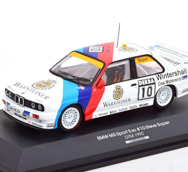 """BMW M3 Sport Evolution No.10, DTM 1992 """"BMW Motorsport"""" Steve Soper 1-43 CMR Models"""