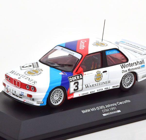 BMW M3 E30 No.3, DTM 1991 Johnny Cecotto 1-43 CMR Models