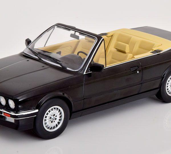 BMW 3er Serie (E30) Cabriolet 1985 Zwart 1-18 MCG Models