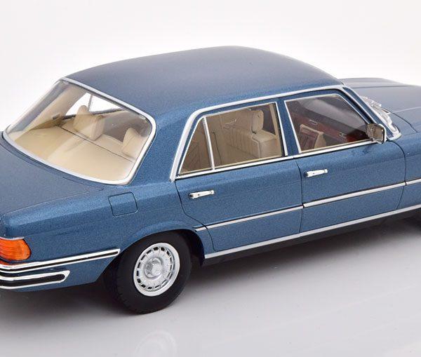 Mercedes-Benz 450 SEL 6.9 ( W116 ) 1975-1980 Blauw Metallic 1-18 Iscale ( Metaal )