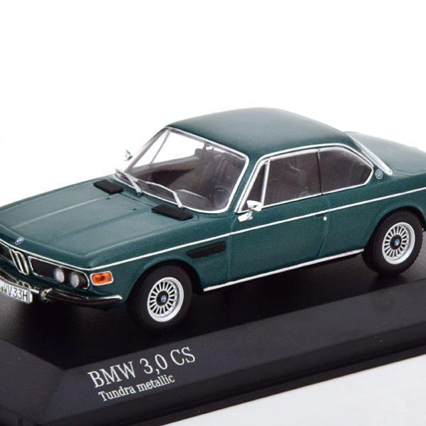 BMW 3.0 CS (E9) 1969 Donkergroen Metallic 1-43 Minichamps Limited 504 Pieces