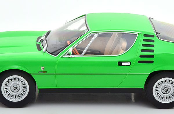 Alfa Romeo Montreal 1970 Groen 1-18 KK Scale Limited 500 Pieces