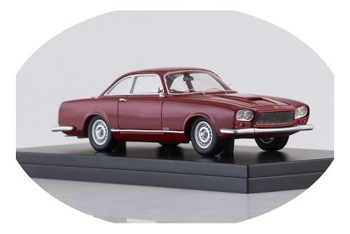 Gordon-Keeble GKI Coupe 1964 Donkerrood 1-43 BOS Models