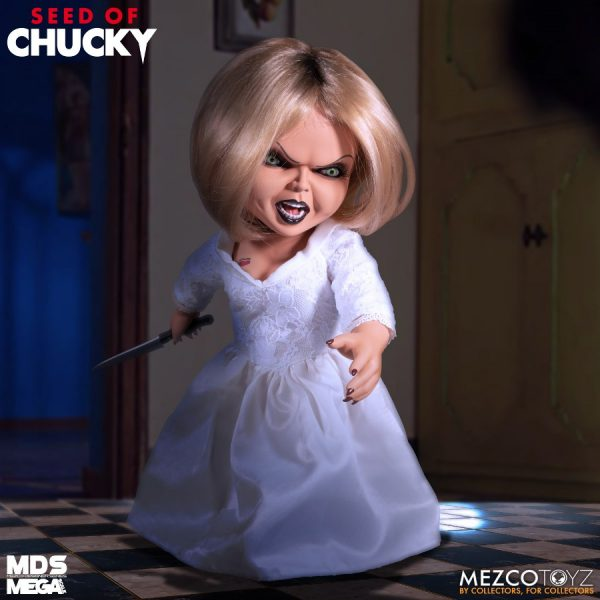 Seed of Chucky: Mega Scale Talking Tiffany 15 inch Action Figure Mezco Toys