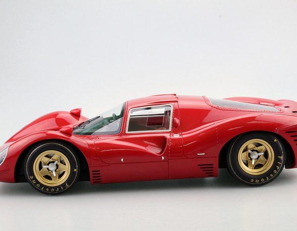 Ferrari 330 P4 ( Plain Body ) Rood 1:12 GP Replicas Limited 250 Pieces