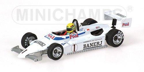 Ralt Toyota RT3 Ayrton Senna Formule 1 British F3 Champion 1983 Wit 1:43 Minichamps EAN 4012138071551