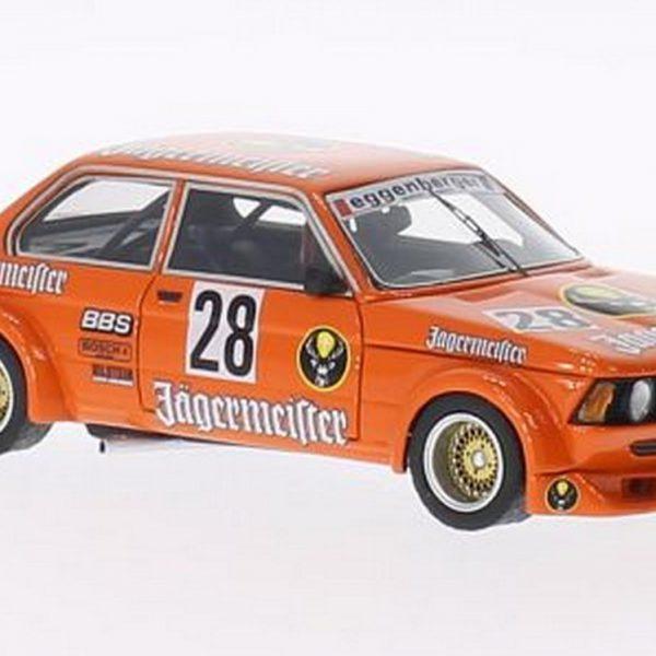 BMW 320i Jagermeister #28 ETCC 1979 1-43 Oranje Neo Scale Models