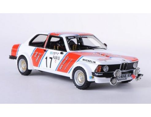 BMW 320i BMW France #17 Rallye Monte Carlo 1980 Timo Makinen 1-43 Rood Neo Scale Models