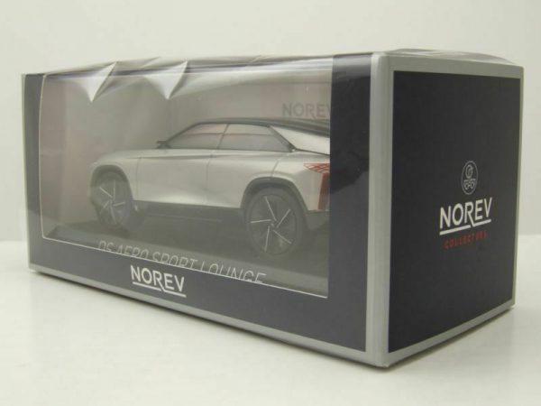Citroen DS Aero Sport Lounge 2020 Zilver Metallic 1:43 Norev