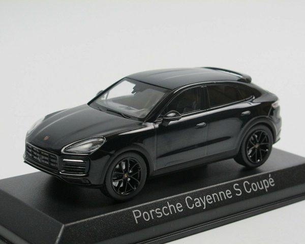 Porsche Cayenne S Coupe 2019 Donkerblauw Metallic 1-43 Norev