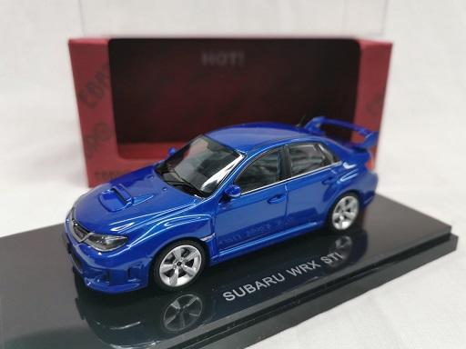 Subaru Impreza WRX Sti Blauw 1-43 Ebbro