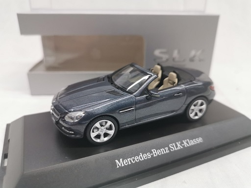 Mercedes-Benz SLK-Klasse Tenorit Grey 1-43 Schuco ( Dealer )