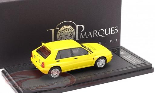 Lancia Delta HF Integrale Evo 2 1992 Geel 1:43 Top Marques Limited 500 Pieces