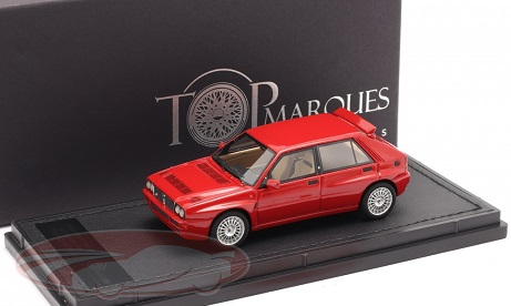 Lancia Delta HF Integrale Evo 2 1992 Rood 1:43 Top Marques Limited 500 Pieces