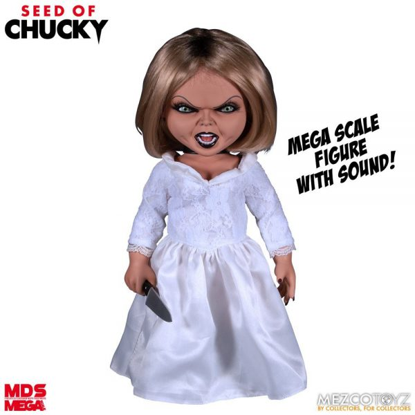 Seed of Chucky: Mega Scale Talking Tiffany 15 inch Action Figure Mezco Toys
