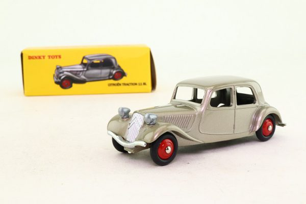 Citroen Traction 11 BL Zilver 1:43 Dinky Toys ( Atlas )