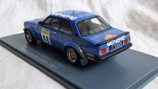 "Opel Ascona B Gr.2 ""Tchine"" #48 Rallye MOnte Carlo1981 Blauw 1-43 Neo Scale Models"
