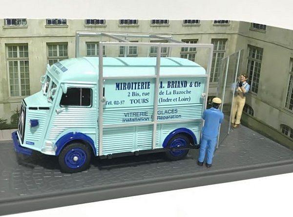 """Citroen Type H 1968 """"Petits Utilitaires"""" Lichtblauw 1-43 Atlas"""