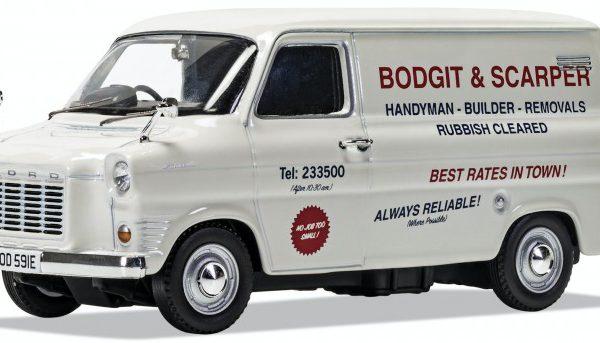 Ford Transit MK1 Bodgit and Scarper Wit 1-43 Corgi
