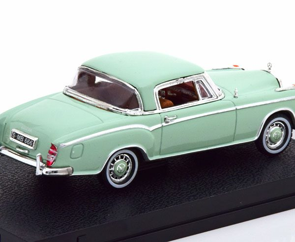 Mercedes-Benz 220 SE Coupe 1958 Groen 1-43 Vitesse