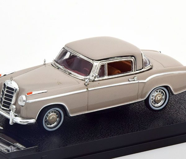 Mercedes-Benz 220 SE Coupe 1959 Creme 1-43 Vitesse