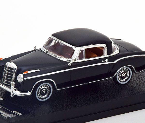 Mercedes-Benz 220 SE Coupe 1959 Zwart 1-43 Vitesse