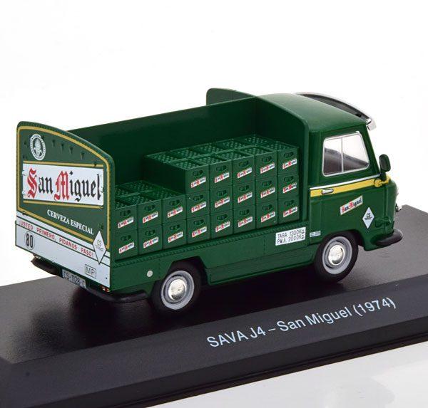 "Sava J4 ""San Miguel"" 1974 Groen 1-43 Altaya"