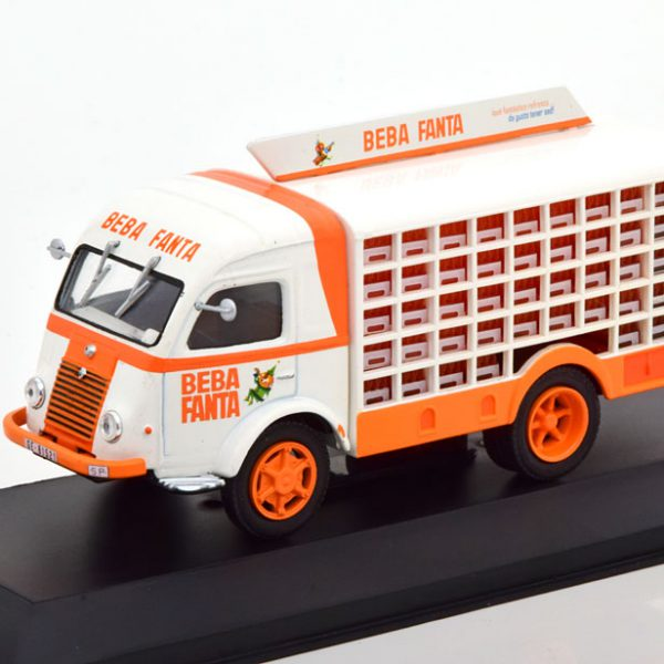 """Renault Galion """"Fanta"""" 1964 Wit / Oranje 1-43 Altaya"""