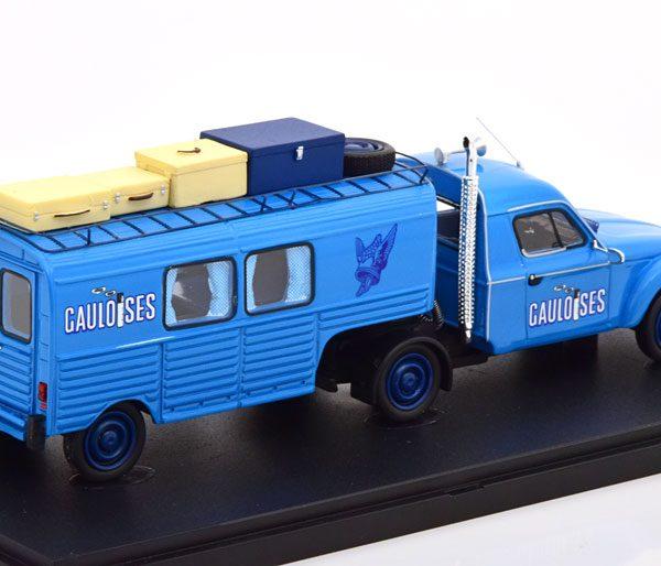 "Citroen Acadiane ""Gauloises Truckente"" 1981 Blauw 1-43 Autocult Limited 333 Pieces"