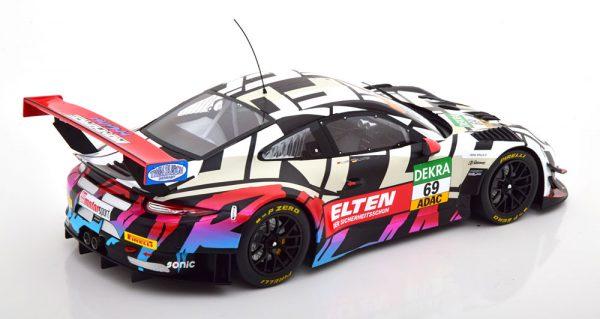 Porsche 911 (991) GT3 R No.69, ADAC GT Masters 2018 Slooten/Luhr 1-18 Ixo Models