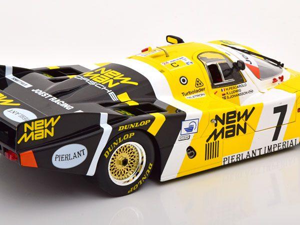 Porsche 956LH #7 Winner 24h Le Mans 1984 Drivers: Ludwig/Pescarolo/Johansson Team New Man 1-18 Solido