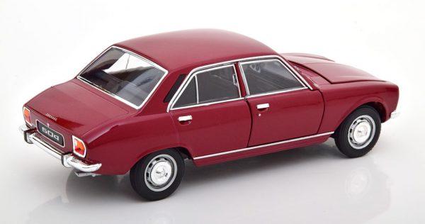 Peugeot 504 Limousine 1975 Bordeaux Rood 1-24 Welly