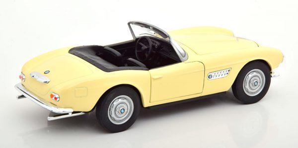 BMW 507 Cabriolet 1957 ( Open ) Beige 1-24 Welly