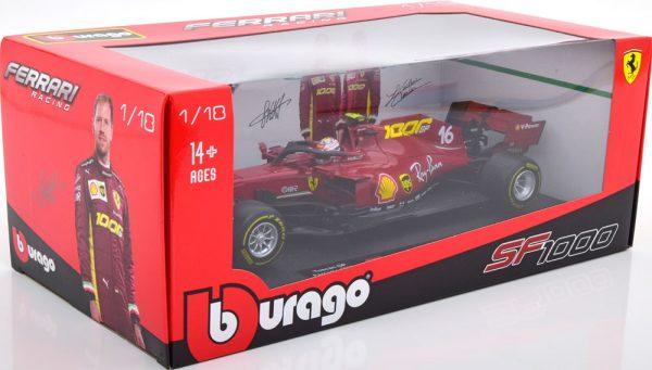Ferrari SF1000 1000th Ferrari GP 2020 Tuscan C.Leclerq 1-18 Burago