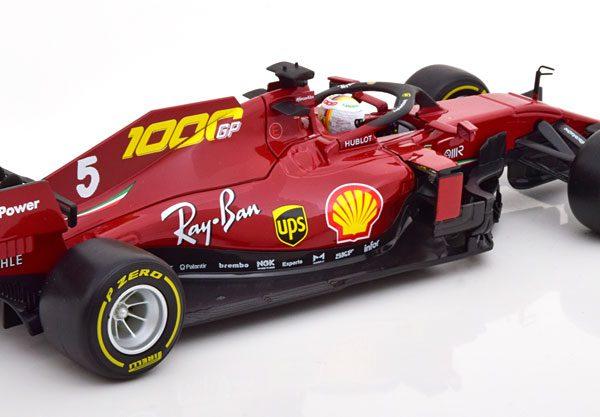 Ferrari SF1000 1000th Ferrari GP 2020 Tuscan S.Vettel 1-18 Burago